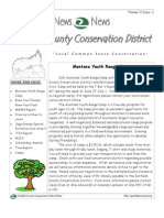 Summer 2011 Garfield County Conservation District Newsletter