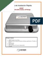 AIRNET 54Mb Outdoor AP-Bridge Quick Configuration Guide Spanish