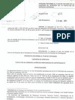 Aprueba Reforma Al Plan de Estudio de La Carrera de Derecho (Decreto 401, 20.01.2011)