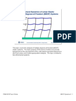Structural Dynamics of Linear Elastic Multiple-Degrees-Of-Freedom ...