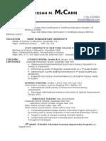 McCann Resume 01192012