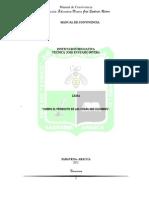 MANUAL CONVIVENCIA OFICIAL IETJER-SARAVENA PARA EL AÑO 2012