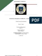 Principles of Managment Starbucks - Company Profile