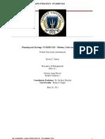 Principles of Managment Starbucks - Mission, Vision and Principles