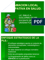 Programación Local Participativa