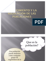 Crecimiento y Regulacion de Las Poblaciones