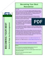 Becoming Your Best Newsletter - January 2012