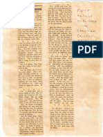 Vaman Hari Pandit First Article 1922