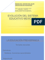 Evolucion Del Sistema