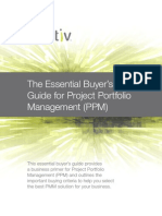 The Essential Buyers Guide for Project Portfolio Management