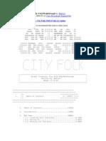 Animal Crossing City Folk FAQ-Walkthough