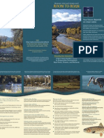 Room to Roam for Montana's Rivers and Streams Brochure
