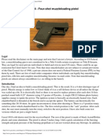 Four-Shot Muzzle Loading Pistol Instructions