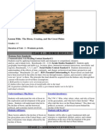 The Bison, Grazing, and the Great Plains, Montana Education Grades 4 - 6