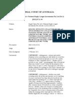Optus (NSD 1430l of 2011) (Draft Judgt as at 11 Jan 2012)