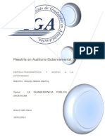 Transparencia pública en zacatecas