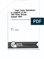 Jedburgh Team Operations
