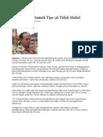 Kliping Berita Perumahan Rakyat Online, 1 Februari 2012