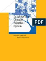 Language as a Complex Adaptive System Best of Language Learning Series 1