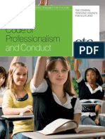 Code of Professionalism and Conduct