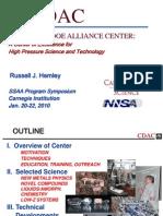 Russell J. Hemley- Carnegie/DOE Alliance Center
