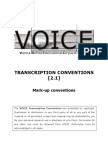 VOICE Mark-up Conventions v2-Transcriptions 1[1]