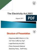 Act & Policiy 2011 PGCIL Vm Office 2003