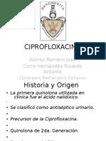 CIPROFLOXACINA.