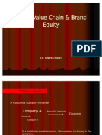 Brand Value Chain & Equity