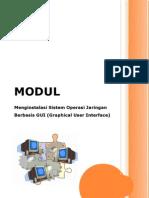 Modul Instal Sistem Operasi Jaringan Berbasis GUI Part I
