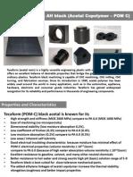 Polyacetal Copolymer POM-C Engineering Thermoplastics