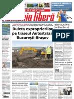 Ruleta exproprierilor pe autostrada Bucuresti Brasov/ Romulus Cristea/ Romania libera