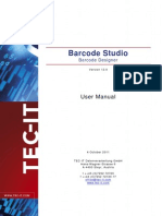 Barcode Studio 12 Manual En
