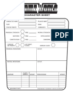 Gamma World 2.0 CharSheet Custom Copy