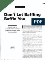 Don't Let Baffling Baffle You
