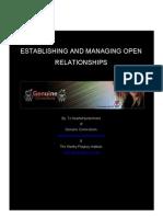 Multiple Open Relationships