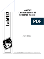 Labview Communication VI Reference Manual