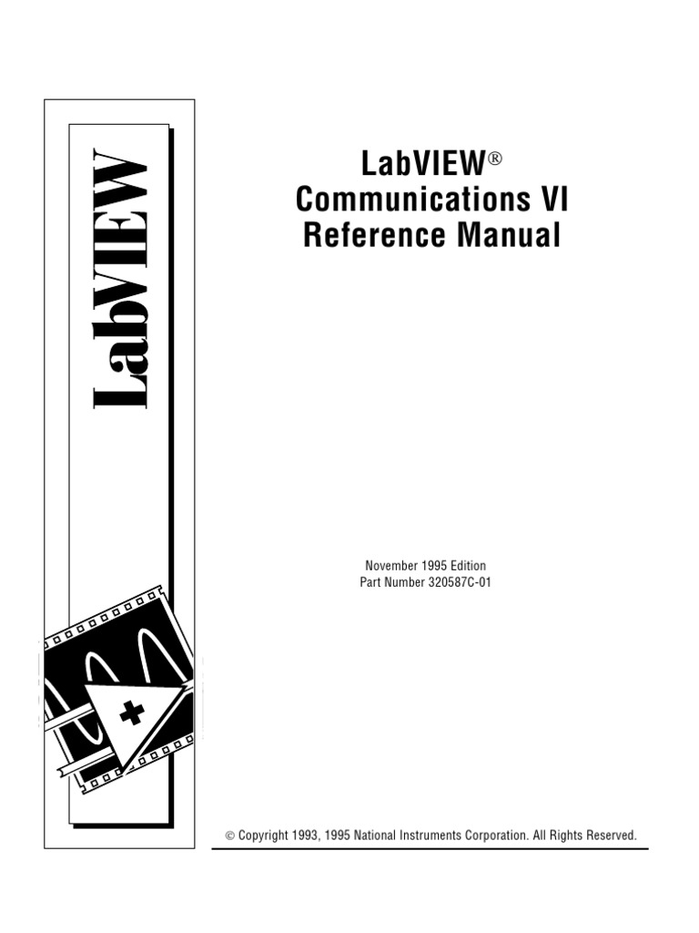 Labview Communication VI Reference Manual | Internet Protocols |  Transmission Control Protocol