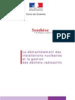 Cour des Comptes Synthèse Nucléaire