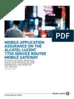 Sept 2011 7750 SR Mobile Gateway en AppNote