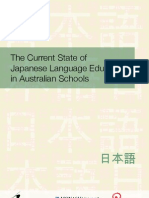 Current State Japanese Language Education