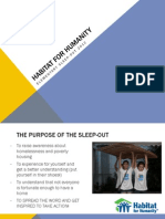 Elementary Sleepout Briefing