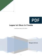 Legea Lui Okun in Franta 1975-2009