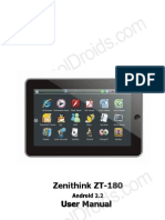 ZT-180 English Manual Cooldroids Version