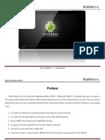 Ainol Novo 7 Advanced English User Manual