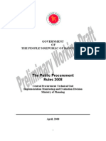 Public Procurement Rules 2008 English