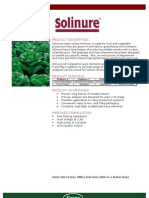 Solinure Brochure