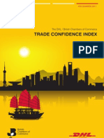 Trade Confidence Index Q4 2011 FINAL
