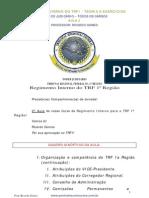 TRF1 Regimento Interno TEC JU Ricardo Gomes Aula 02