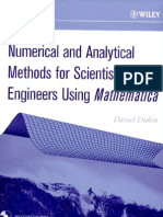 Numerical Analysis Using a